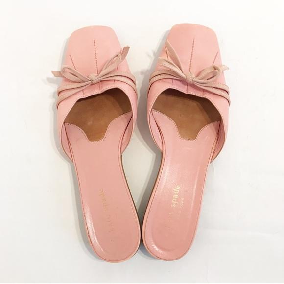 04b7620b8b60 kate spade Shoes - Kate Spade pink slide on closed toe mules